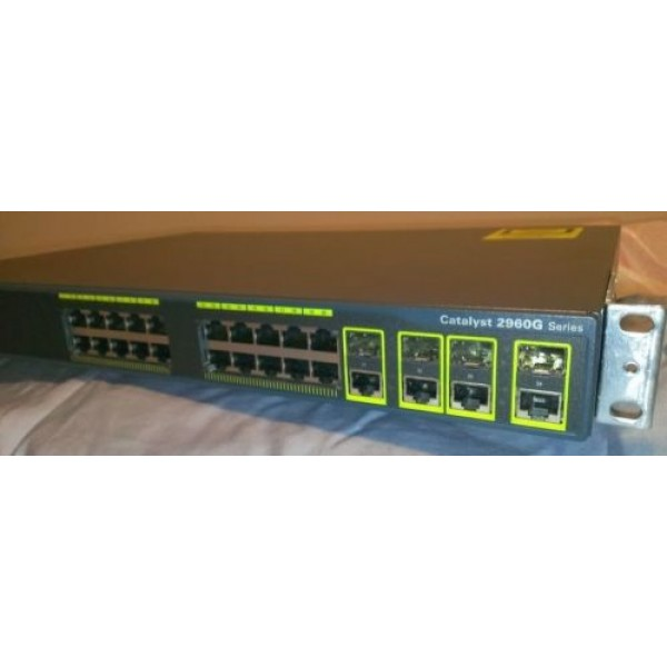 Cisco Ws C2960g 24tc L Catalyst 2960g Switch